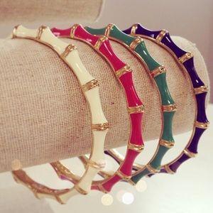 Stella and Dot set of 3 bamboo bracelets